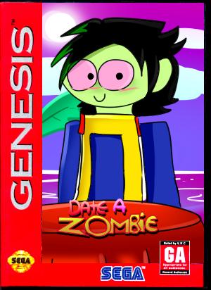 Date a Zombie - Sega Genesis Mock- Up by Norlight