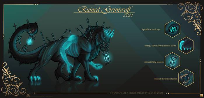 [CLOSED] [Adopt + Story] Ruined Grimwolf