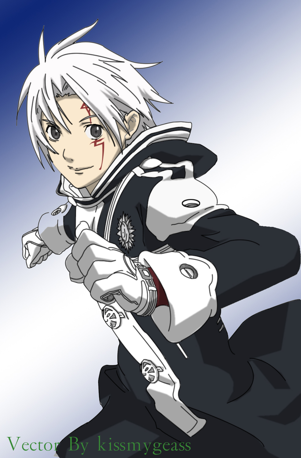 D Gray Man Allen Walker 2 By Kissmygeass On Deviantart