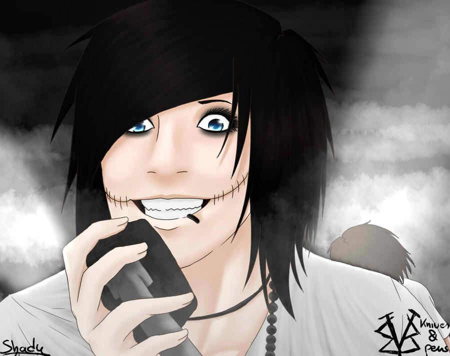 Andy Biersack Knives And Pens Hair