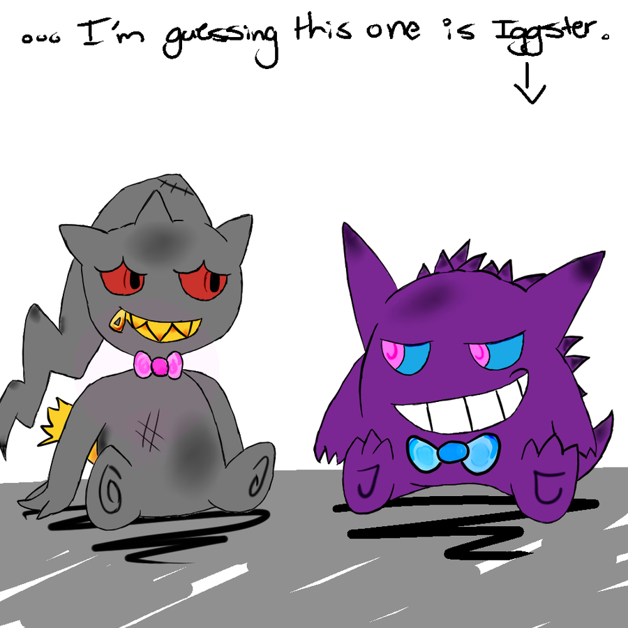 All Ghost Pokemon Beca...