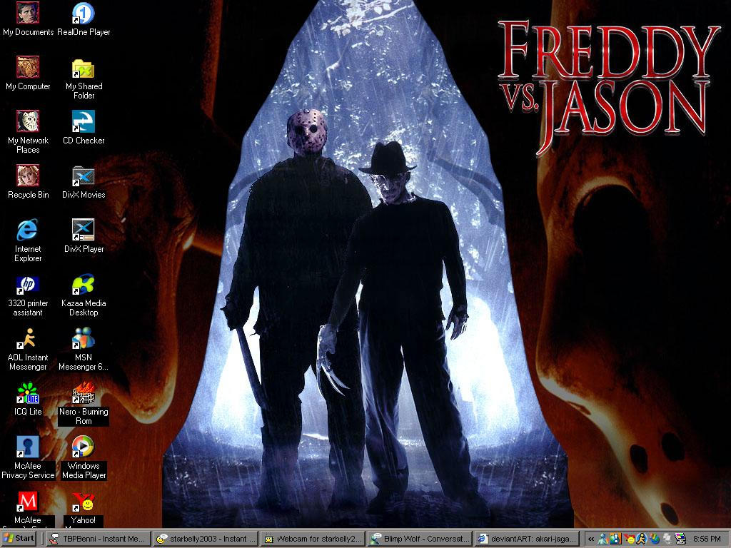 Freddy Vs. Jason by akari-jaganashi