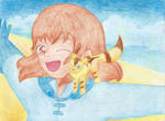 Nausicaa and Teto by Shikisai-san
