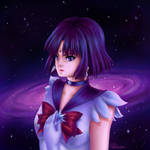 Sailor Saturn by Shikisai-san
