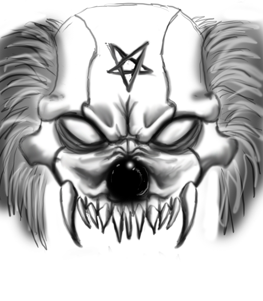 Evil Gangster Clown Drawings Images Free Download
