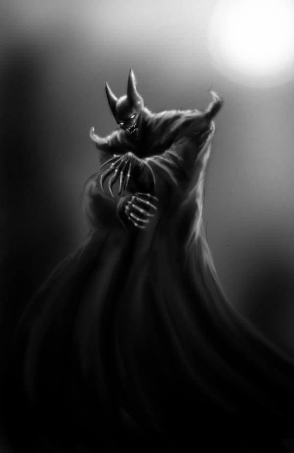 alternative batman by DarkMatteria