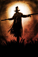 jeepers creepers scarecrow pose by DarkMatteria