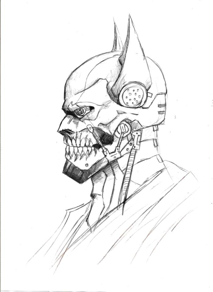Gallery For gt Batman Drawings