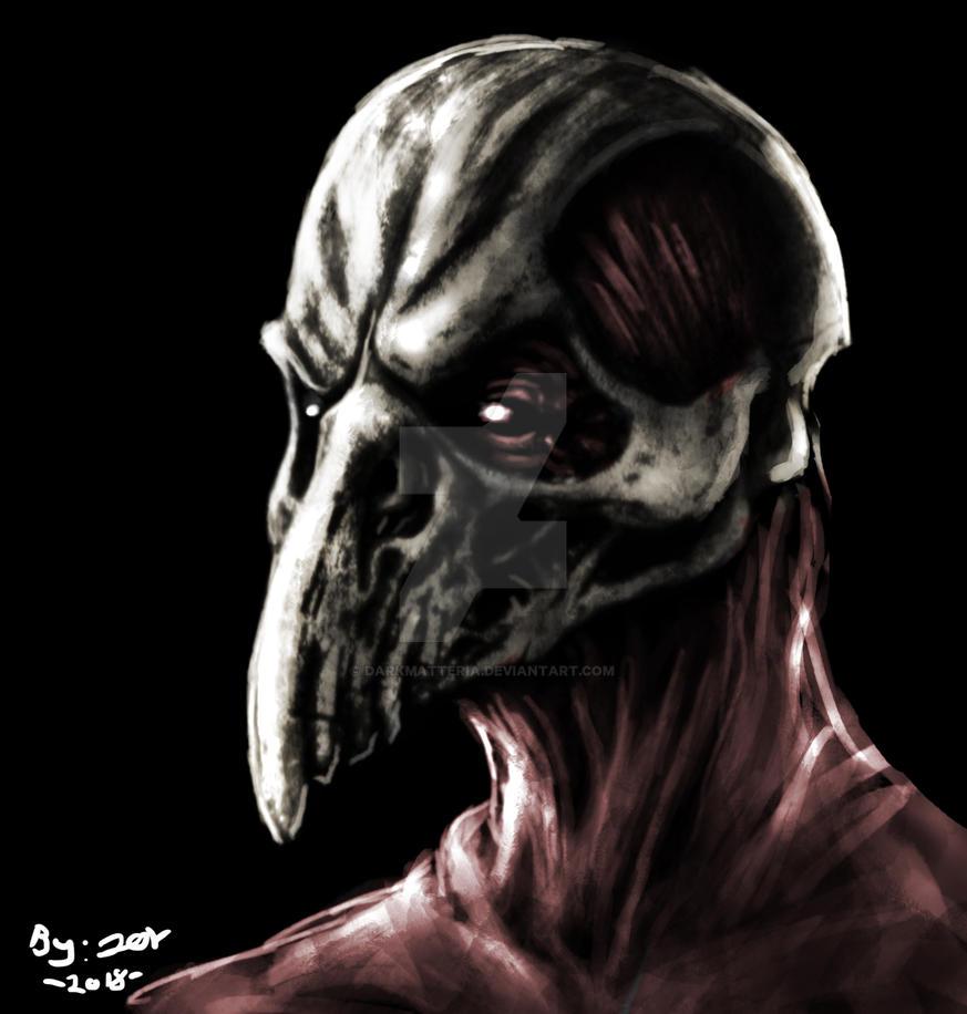 Crow Of Flesh And Bone by DarkMatteria