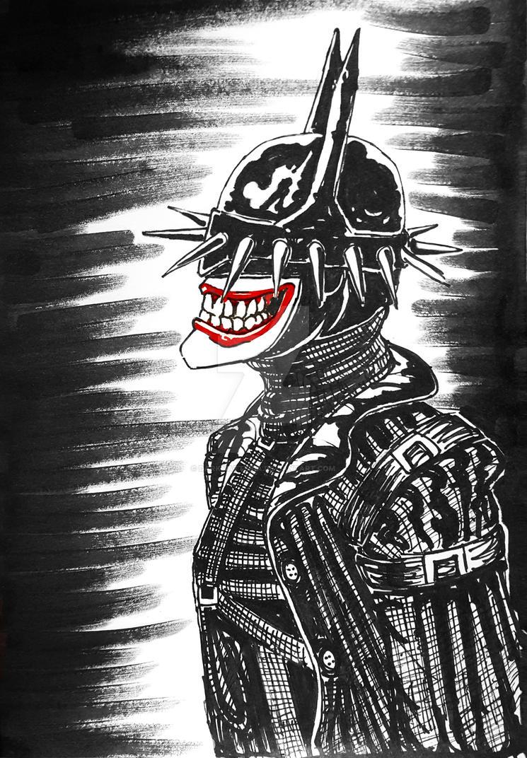 Batman who laughs by DarkMatteria