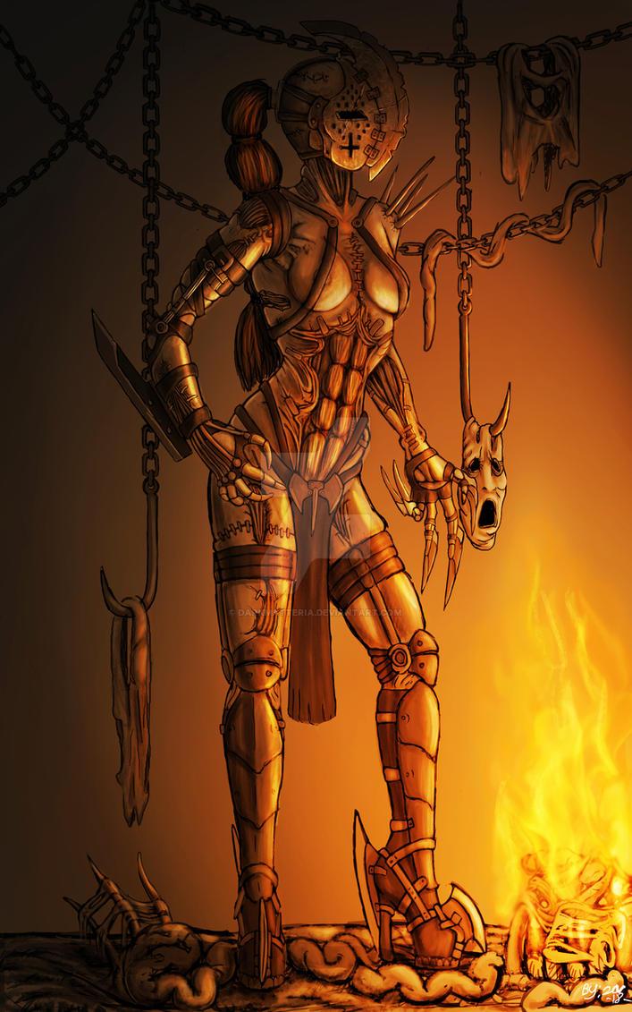 hell's torturer by DarkMatteria