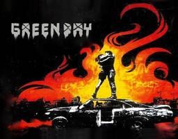 Green Day Wallpaper :logo: by selfdestruction86
