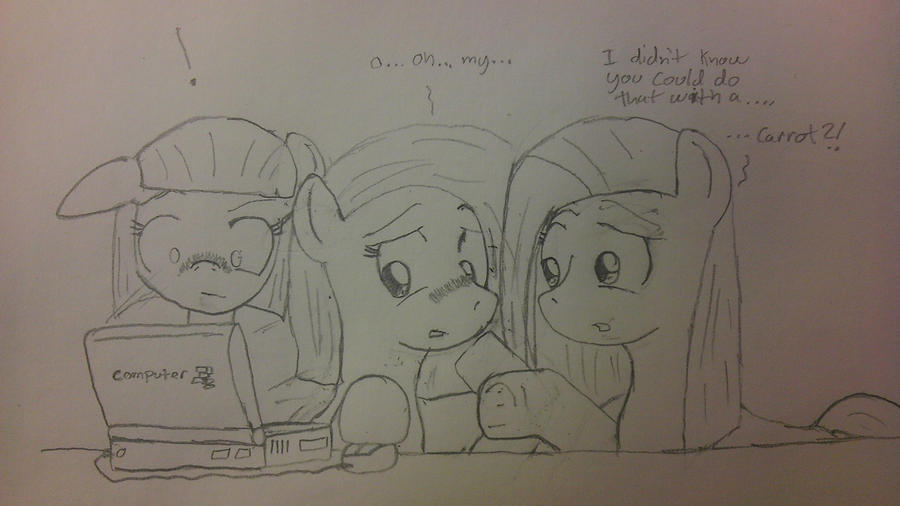 The Pie Sisters Discover Rule 34 by Fox-Skyline