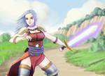 Swordswoman Elma