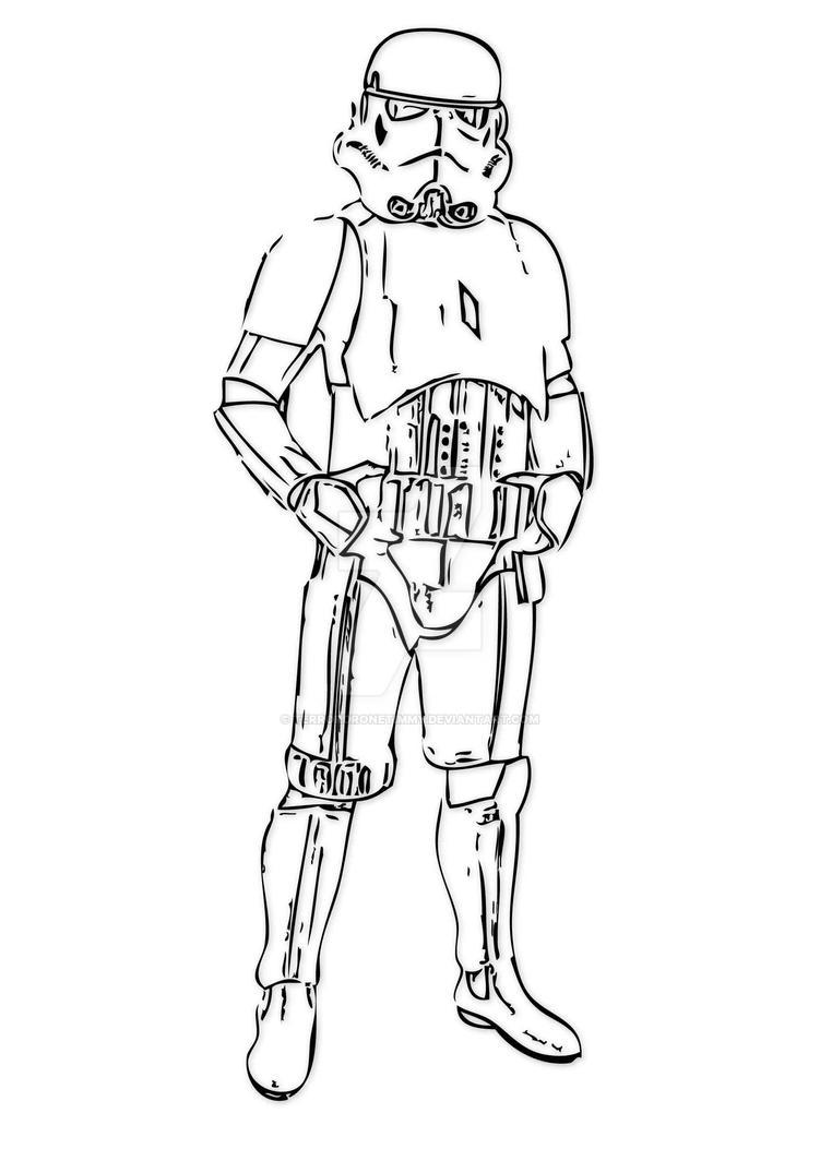 Storm Trooper Vector by TerrorDroneTimmy on DeviantArt