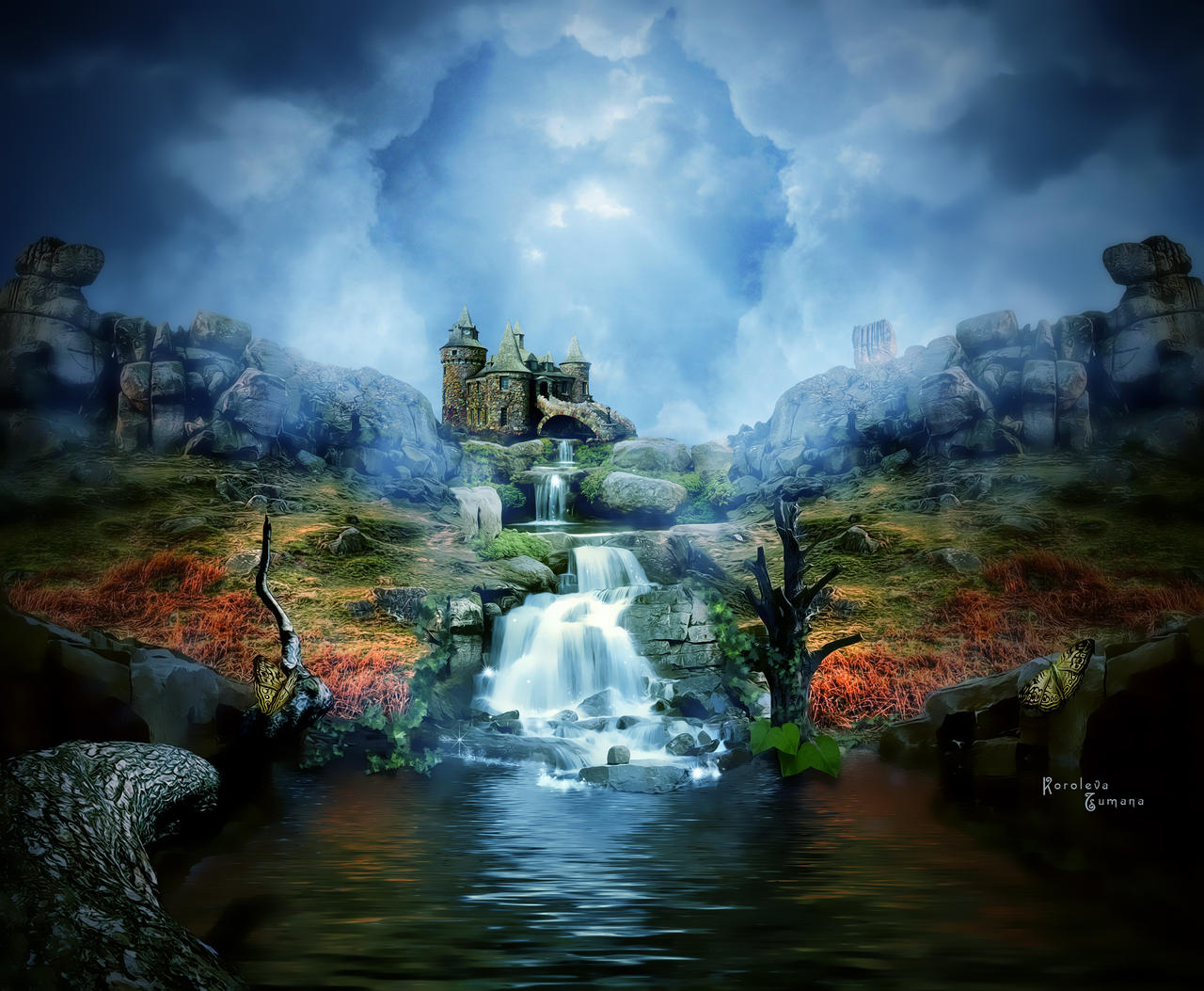 magic castle fantasy world - photo #25