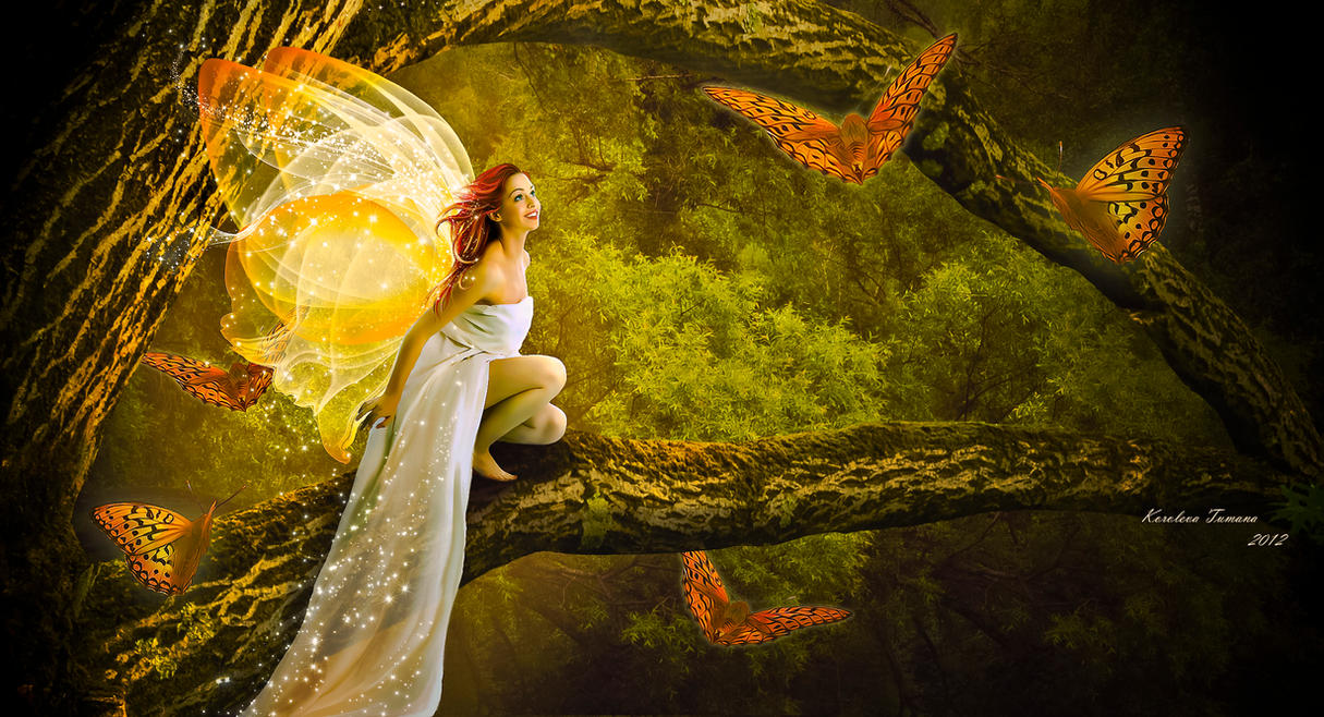 Fairytale meeting by Korolevatumana