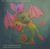 Chibi Yooka-Laylee by shadowsirenmoon
