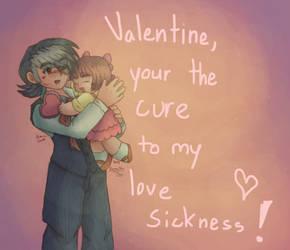 Happy Valentines Day- Black Jack by shadowsirenmoon