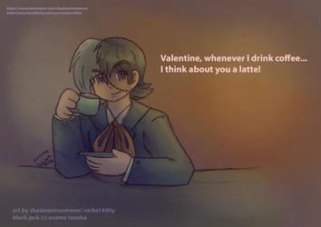 Happy Valentines Day 2019- Black Jack by shadowsirenmoon