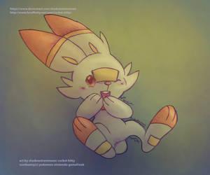 My Fave New Pokemon- Scorbunny by shadowsirenmoon