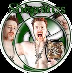 Sheamus - WWE Champion Banner