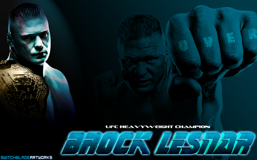 UFC Brock Lesnar Wallpaper By SwitchbladeArtworks