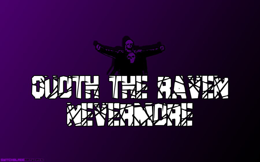 TNA ECW Raven Wallpaper By SwitchbladeArtworks