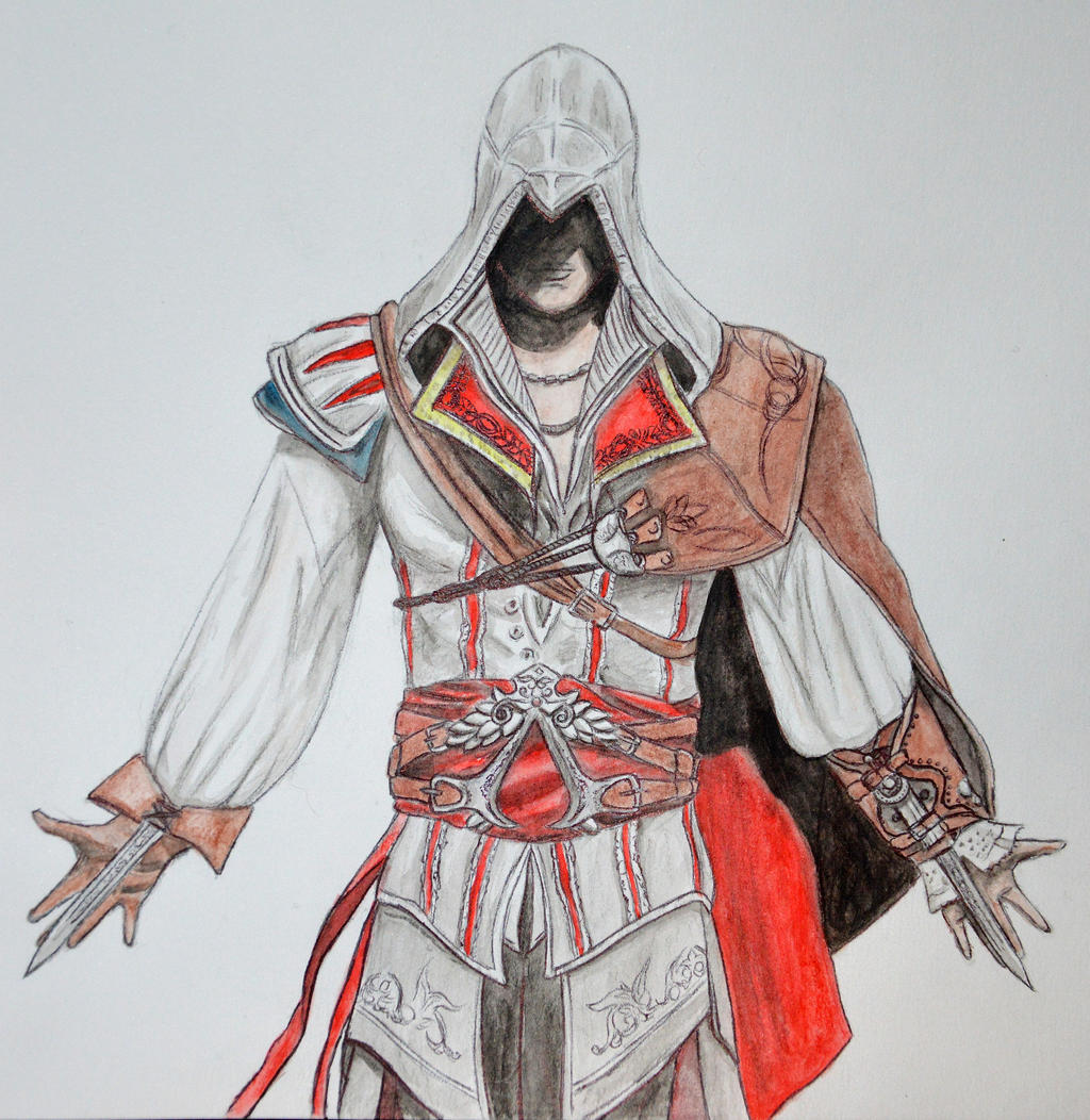 Ezio - Assassin's Creed 2 by mliddam