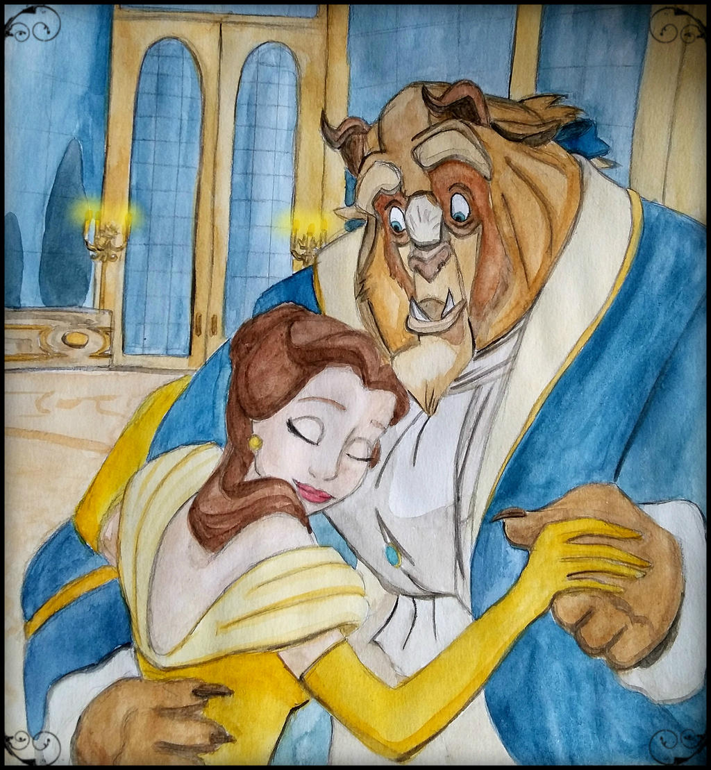 Beauty and the beast by mliddam