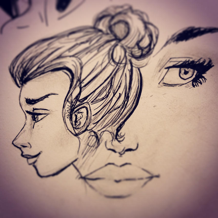 Inktober 3 - sketches by mliddam