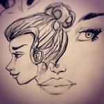 Inktober 3 - sketches