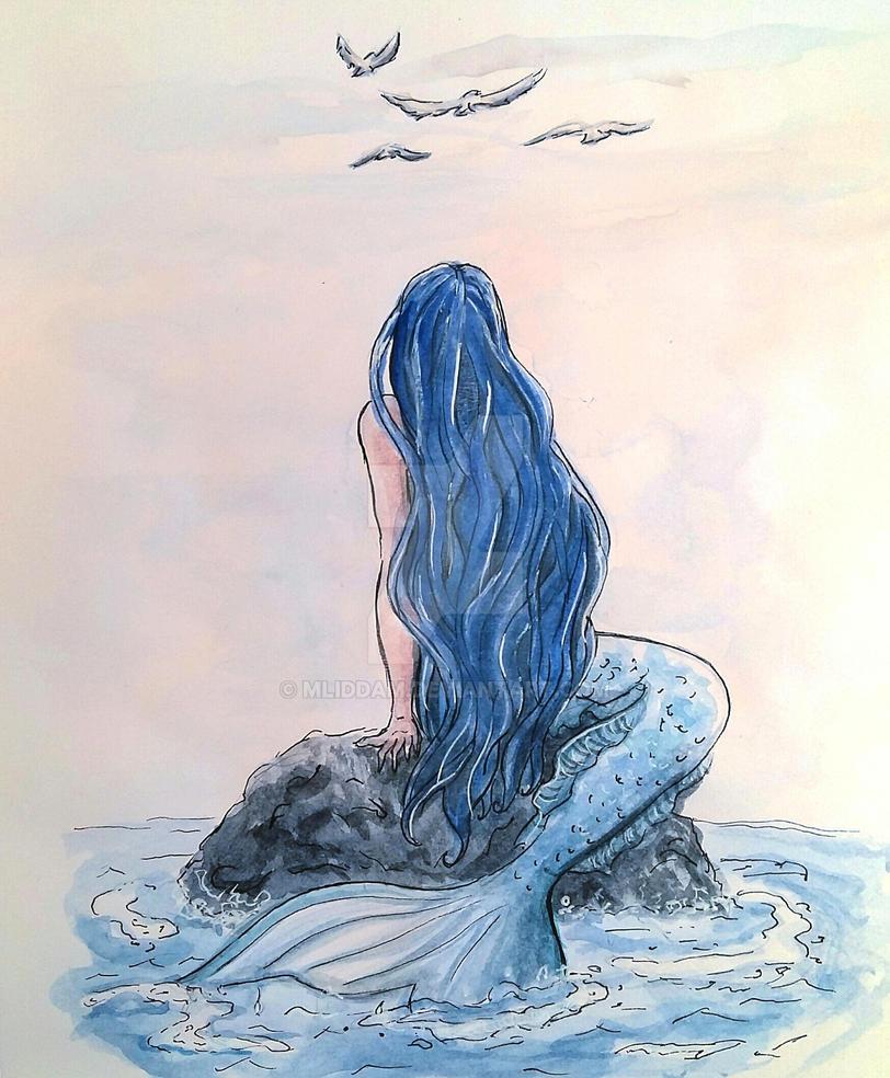 Mermaid day 3 by mliddam