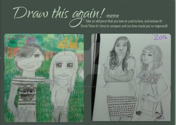 draw it again~! by vaporsheart