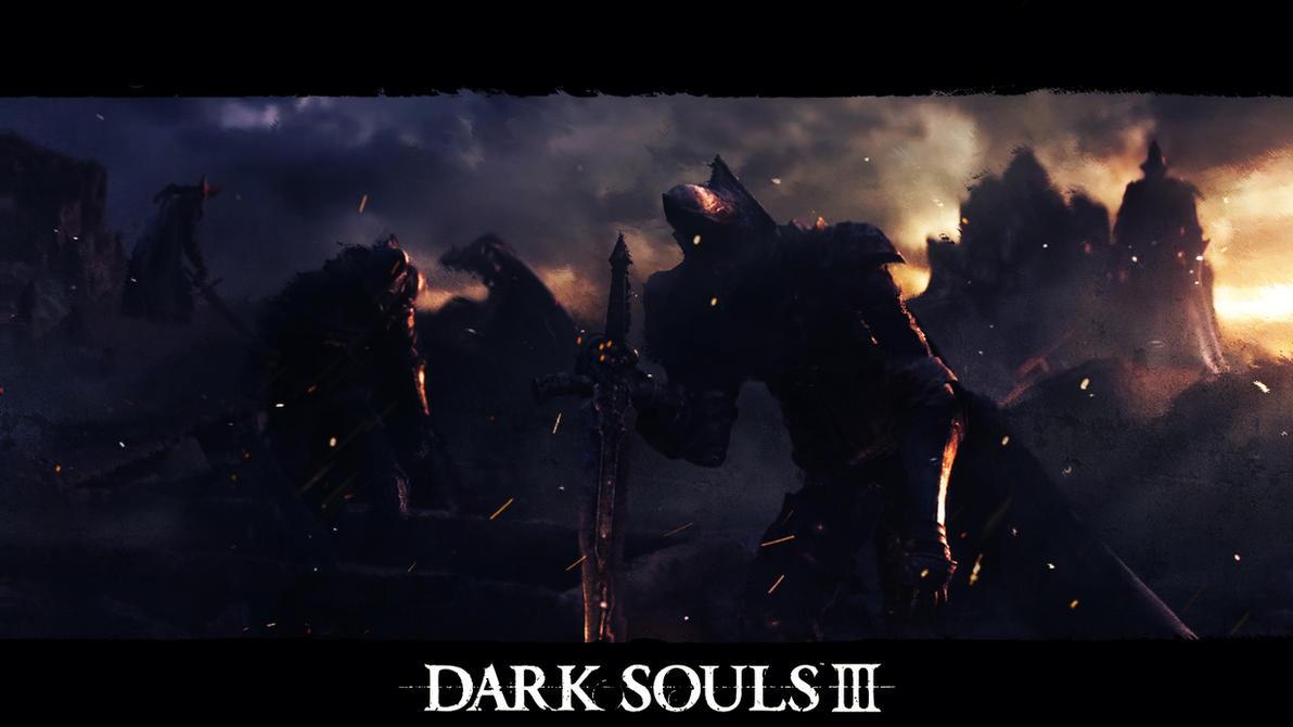 darksouls3 abyss watchers wallpaper by azaelreddevil on
