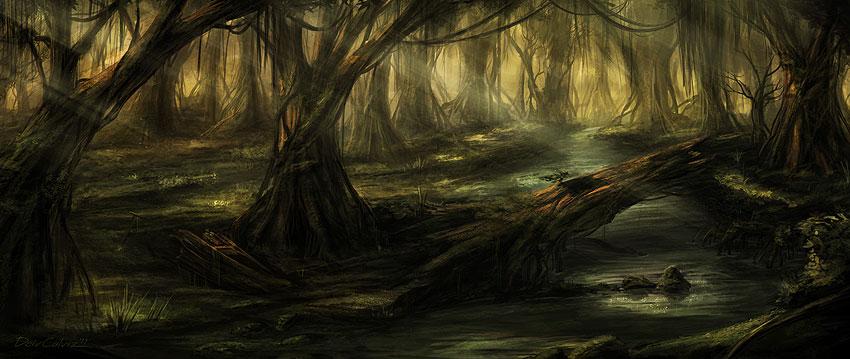 Swamp by DeivCalviz on DeviantArt
