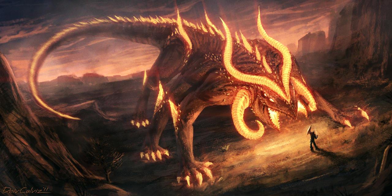 Fire Colossus: Pyrius