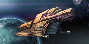 Spaceship 01 by DeivCalviz