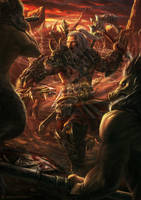 Diablo 3 - Barbarian by DeivCalviz