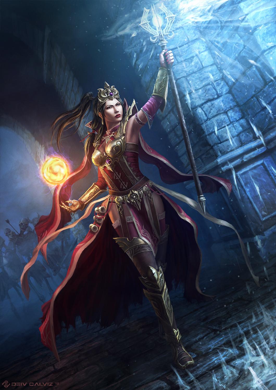 Diablo 3 - Wizard by DeivCalviz