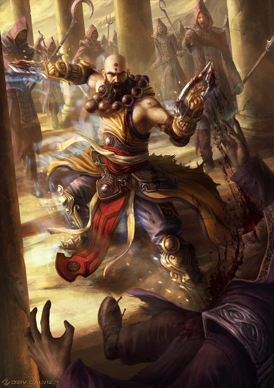 Diablo 3 - Monk - Hand of Ytar by DeivCalviz