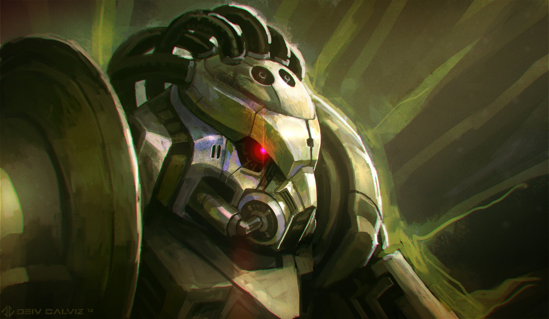 Random Robot 01 by DeivCalviz
