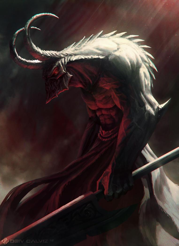 Demon: Naberius by DeivCalviz