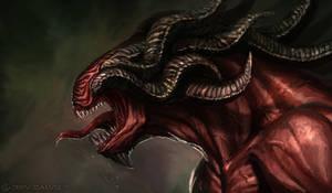 Horny Beast by DeivCalviz