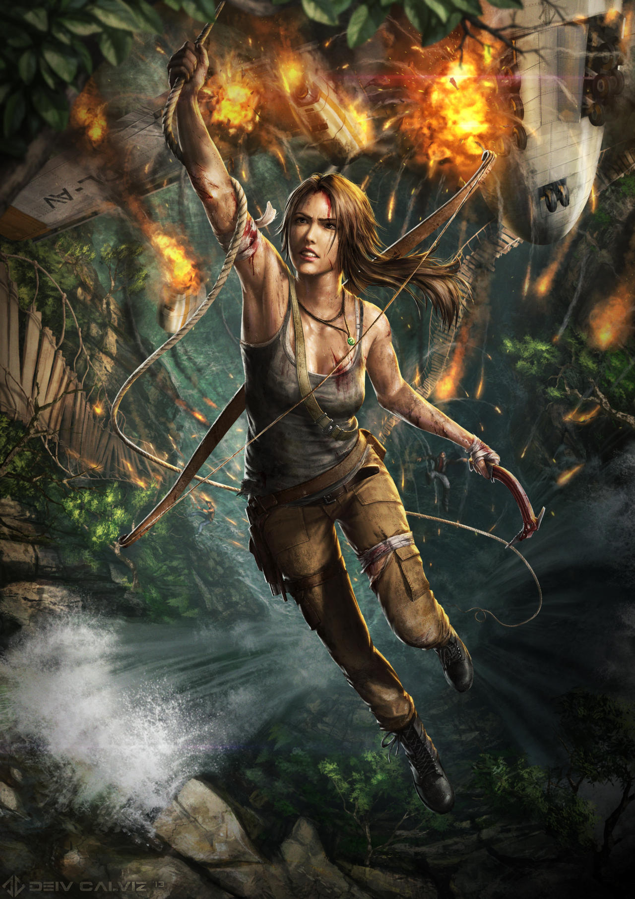Tomb Raider Reborn by DeivCalviz