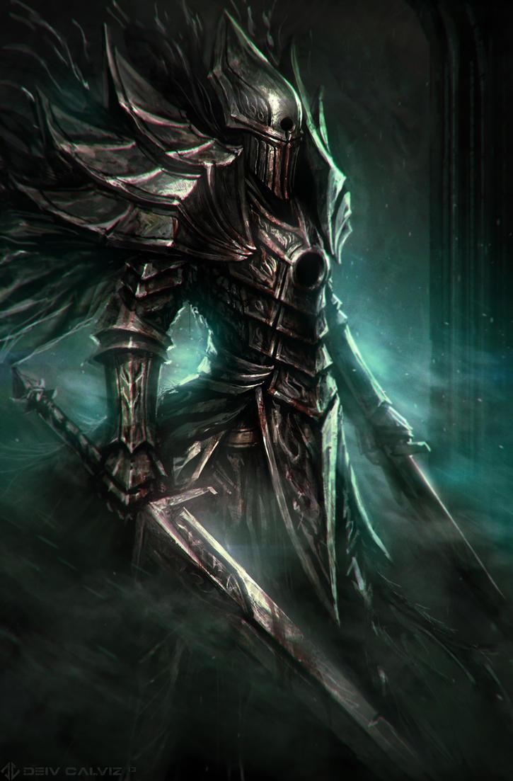 Grave Knight by DeivCalviz