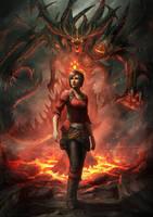 Diablo 3 - Anniversary Fan Art by DeivCalviz