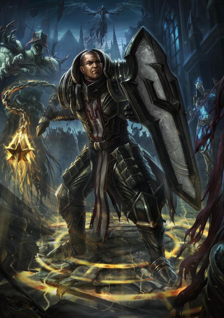Diablo III Contest - Akarat's Champion by DeivCalviz