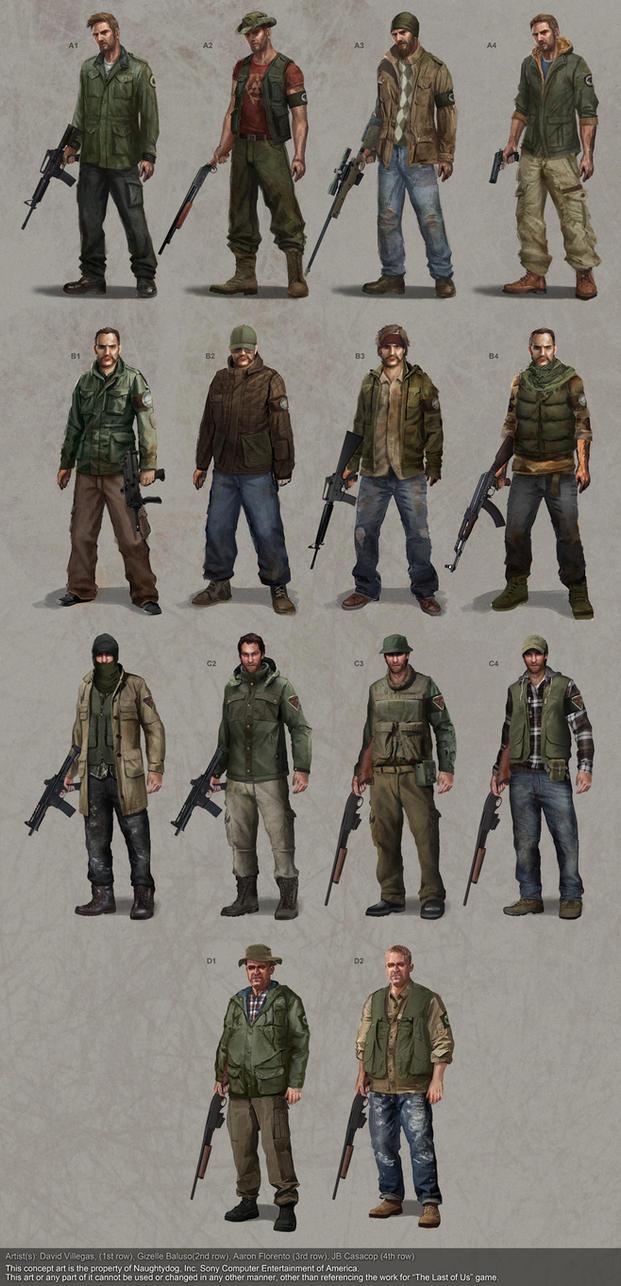 The Last of Us - Firefly Costume Studies by DeivCalviz
