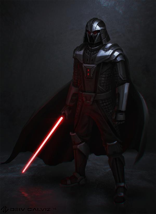 Darth Vader Redesign by DeivCalviz